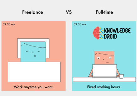 freelance vs part time