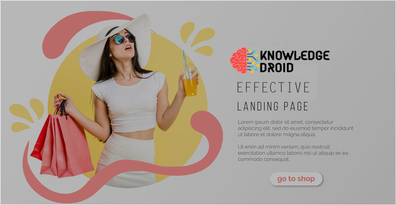 How to make effective landing pages