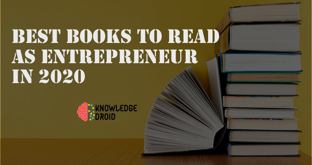 Best business books to read for entrepreneur in 2020