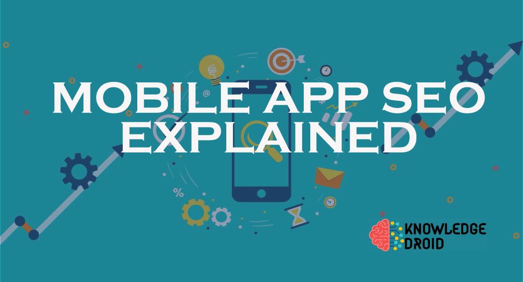 how to do mobile app seo